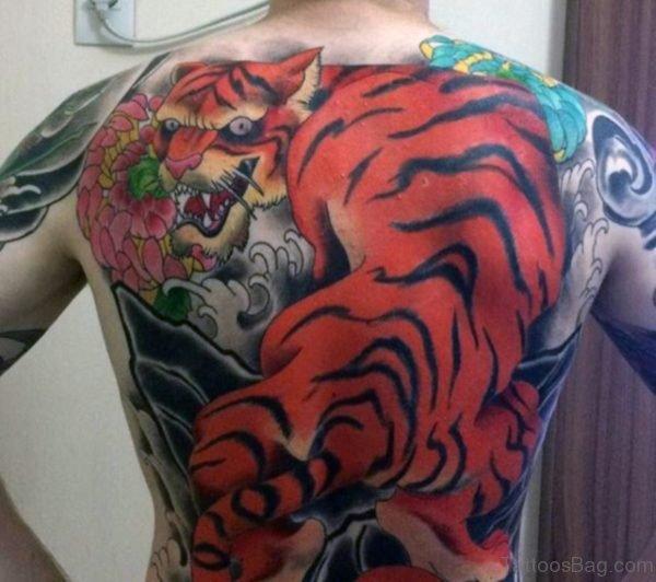 Mind Blowing Tiger Tattoo