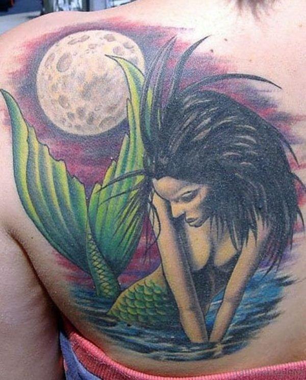 Moon Tattoo On Design