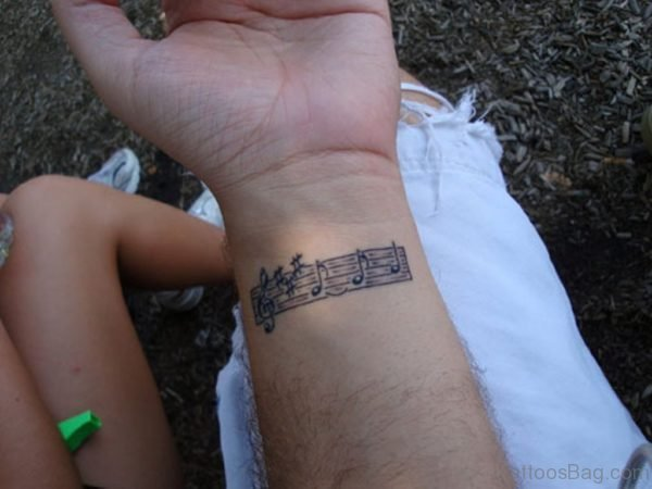 Music Symbol Tattoo