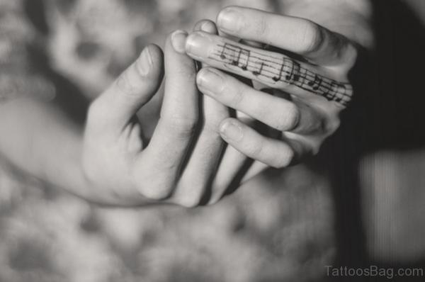 Music Symbols Tattoo