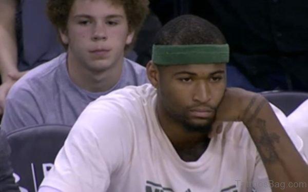 NBA Player Cross Tattoo