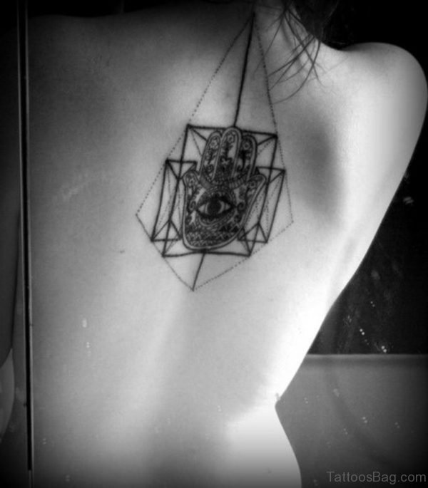 Nice Geometric Tattoo