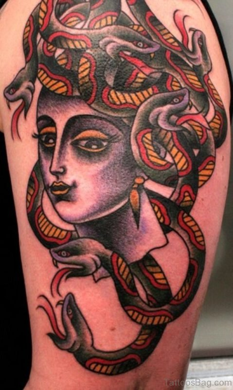 Nice Medusa Tattoo