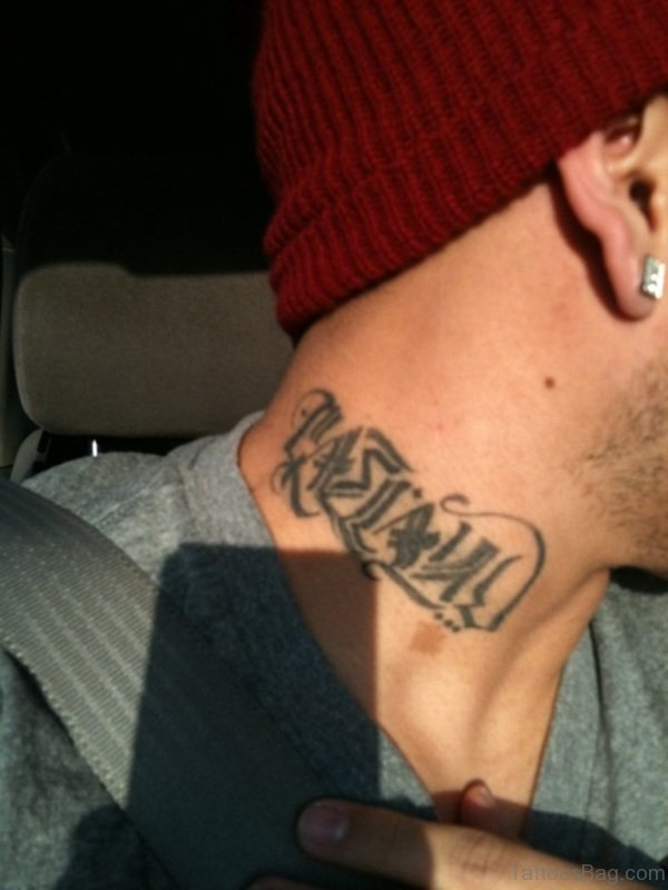 Name Tattoo For Men