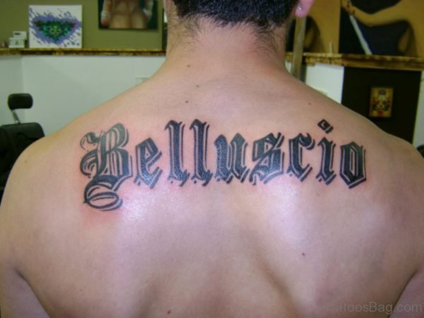 Naming Tattoo Design