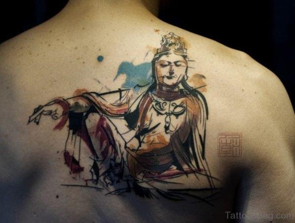 New Style Buddha Tattoo