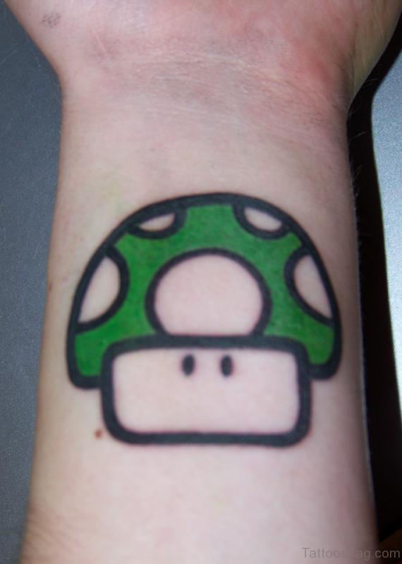 Nice 1 Up Wrist Tattoo