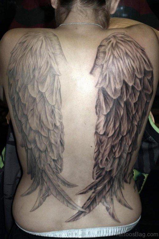 Nice Angel Wings Tatto