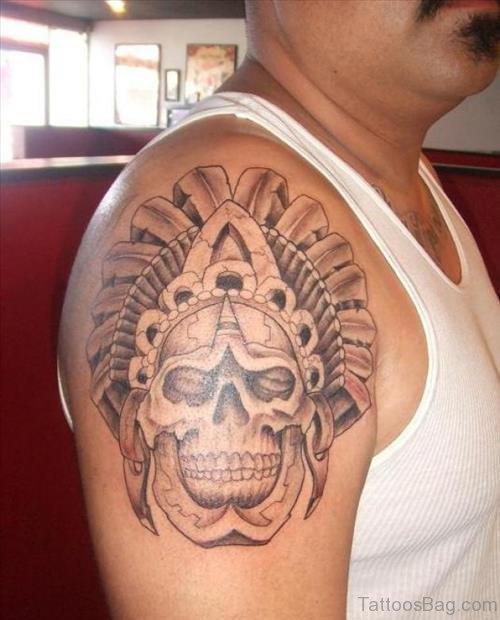 Nice Aztec Tattoo