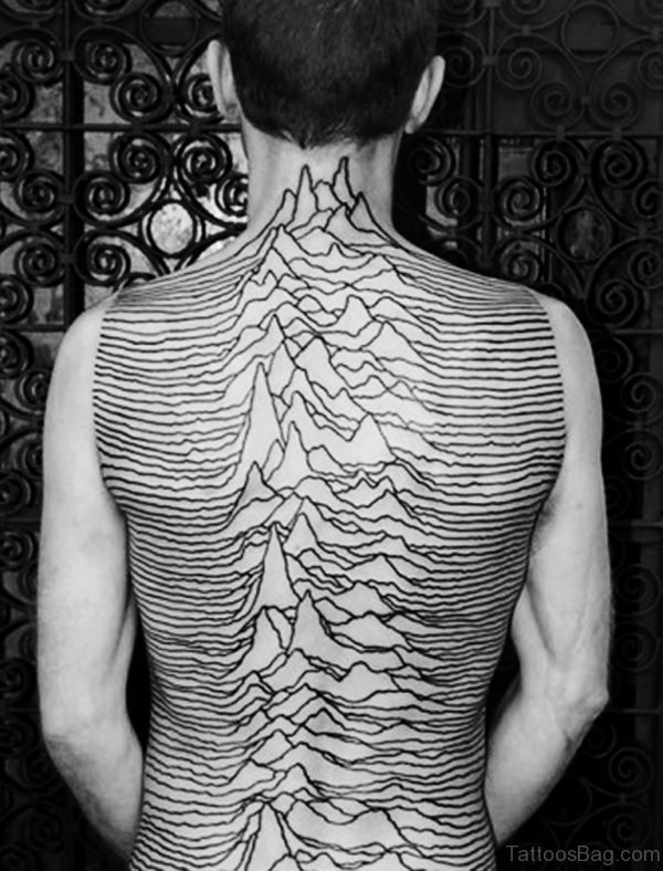 Nice Back Tattoo