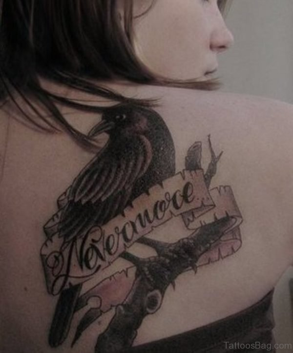 Nice Banner Tattoo Design