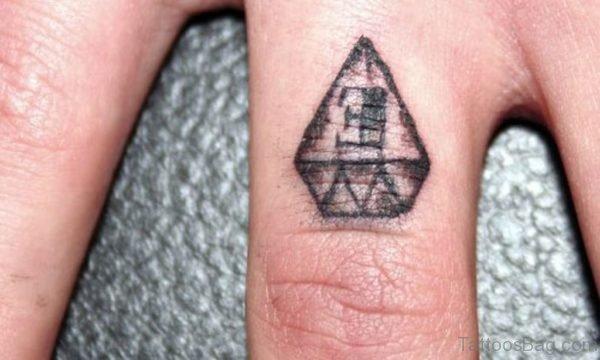 Nice Diamond Tattoo