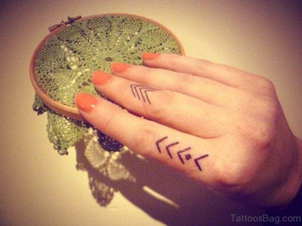 Nice Finger Tattoo