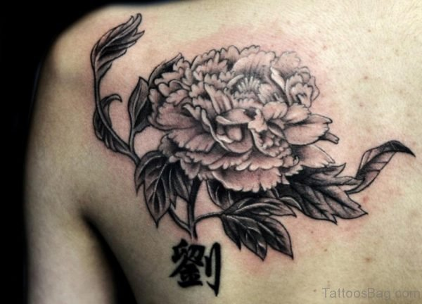 Nice Flower Tattoo Design