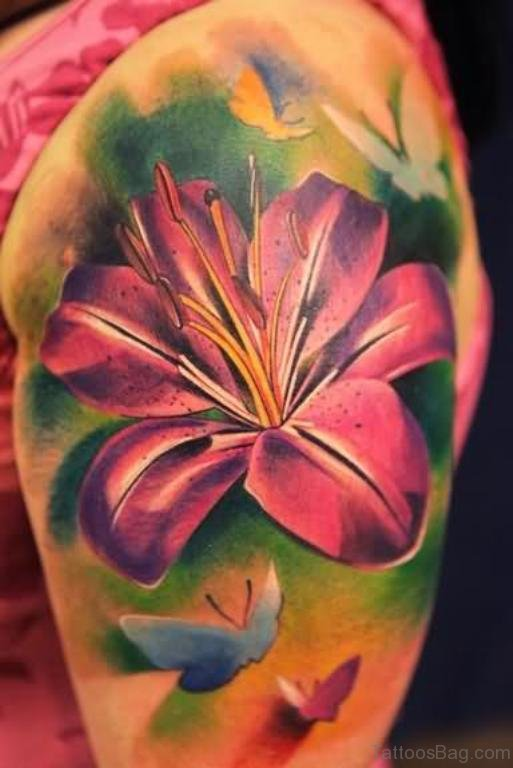 Nice Flower Tattoo