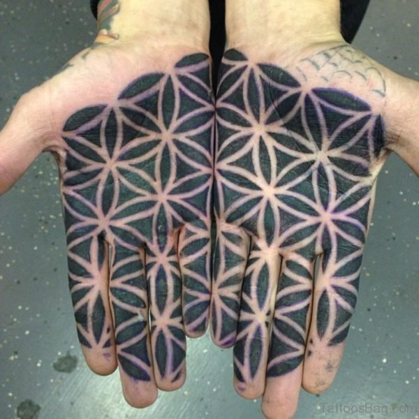 Nice Geometric Tattoo