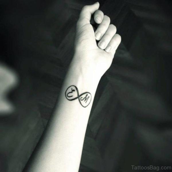 Nice Infinity Tattoo
