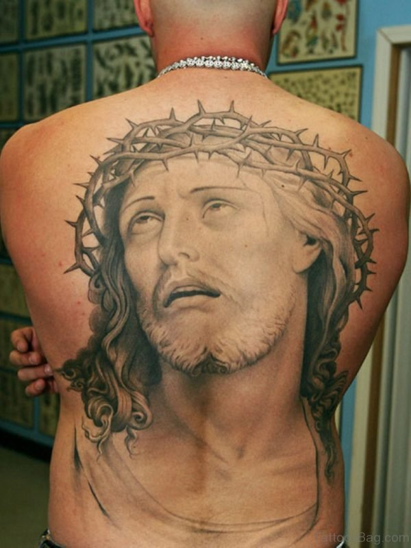 Nice Jesus Tattoo