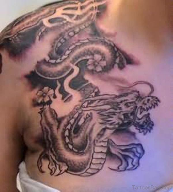 Nice Looking Dragon Tattoo