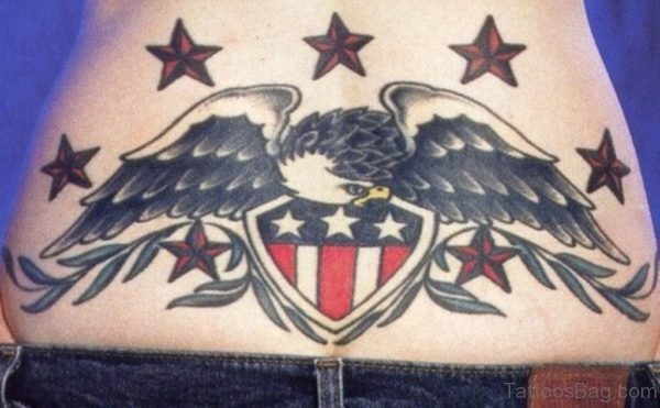 Nice Looking Patriotic Tattoo