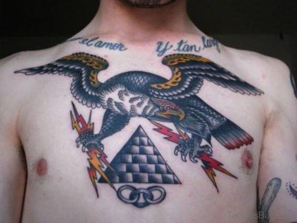 Nice Majestic Eagle Tattoo
