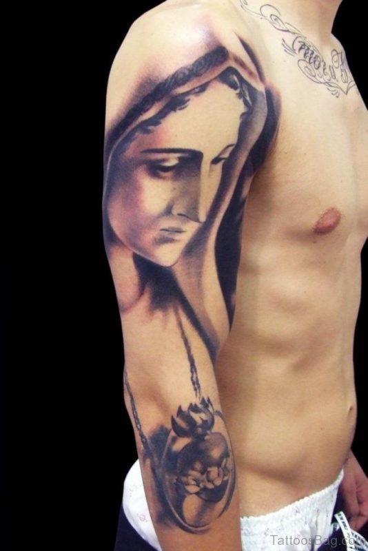 Nice Mary Tattoo