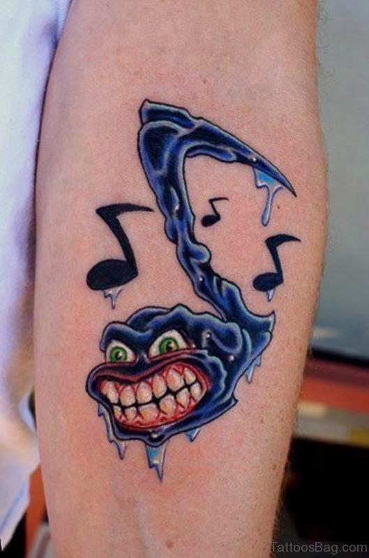 Nice Music Tattoo