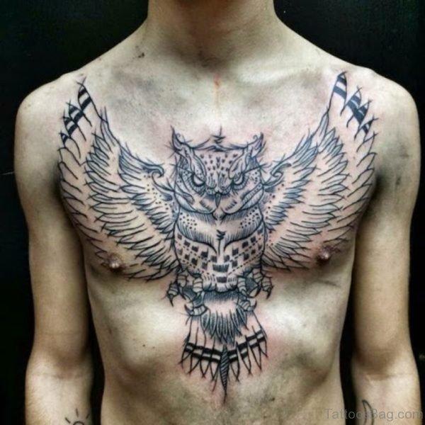 Nice Owl Tattoo