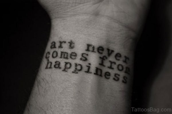 Nice Quotes Tattoo