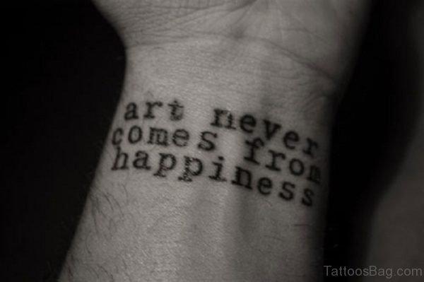 Nice Quotes Tattoo