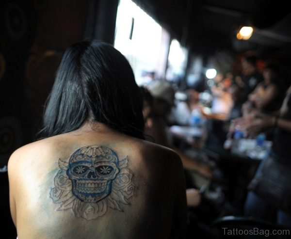 Nice Skull Tattoo Design