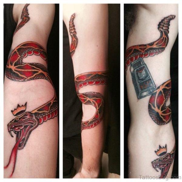 Awesome Snake Tattoo