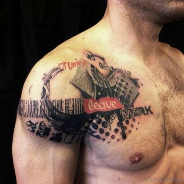 Nice Tattoo For Men Shoulder