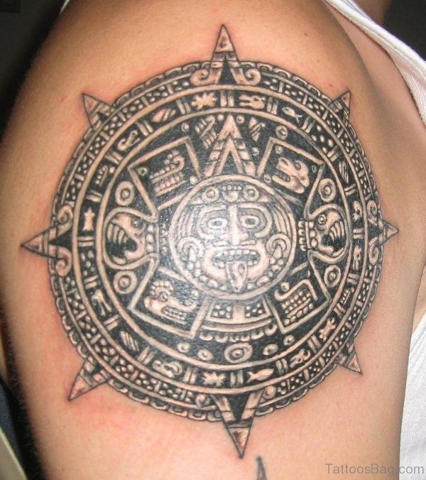 Nice Tattoo On Shoulder