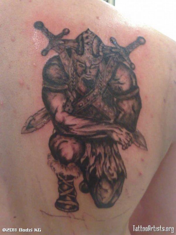 Nice Viking Tattoo