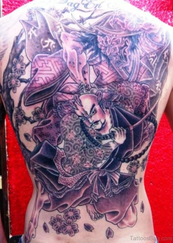 Nice Warrior Tattoo