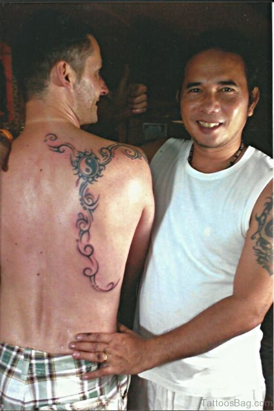 Nice Yin Yang Tattoo