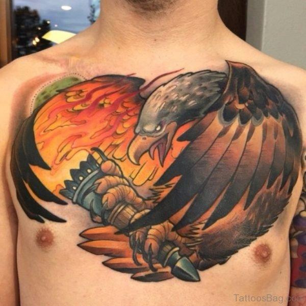 Oak Eagle Tattoo-TB1076