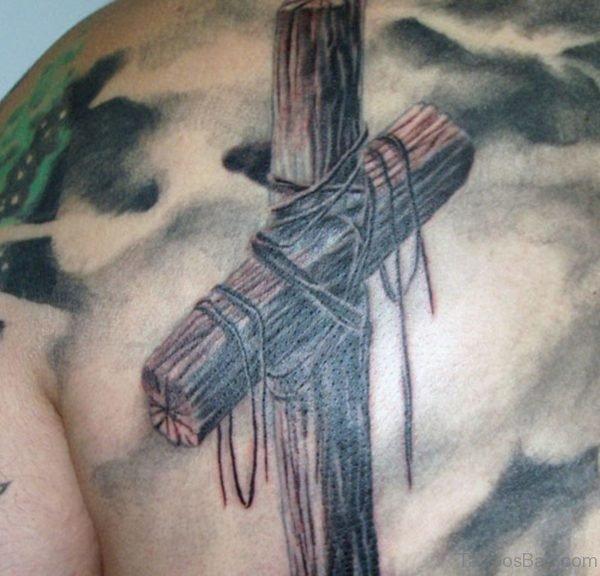 Old Cross Tattoo