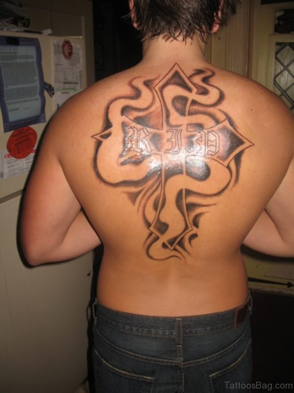 84 Beautiful Old English Tattoos On Back