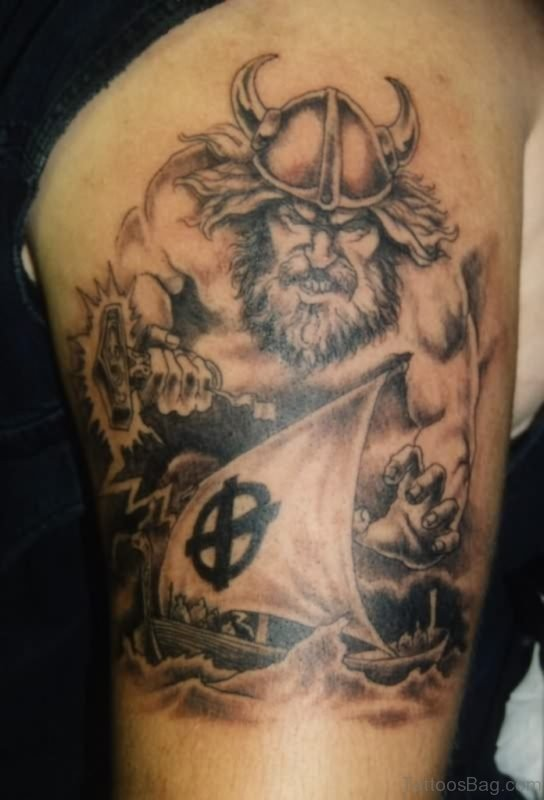 Old Viking Tattoo