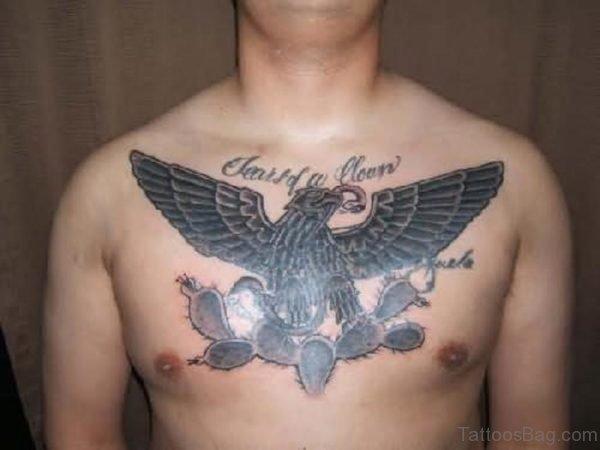 Open Wings Eagle Tattoo