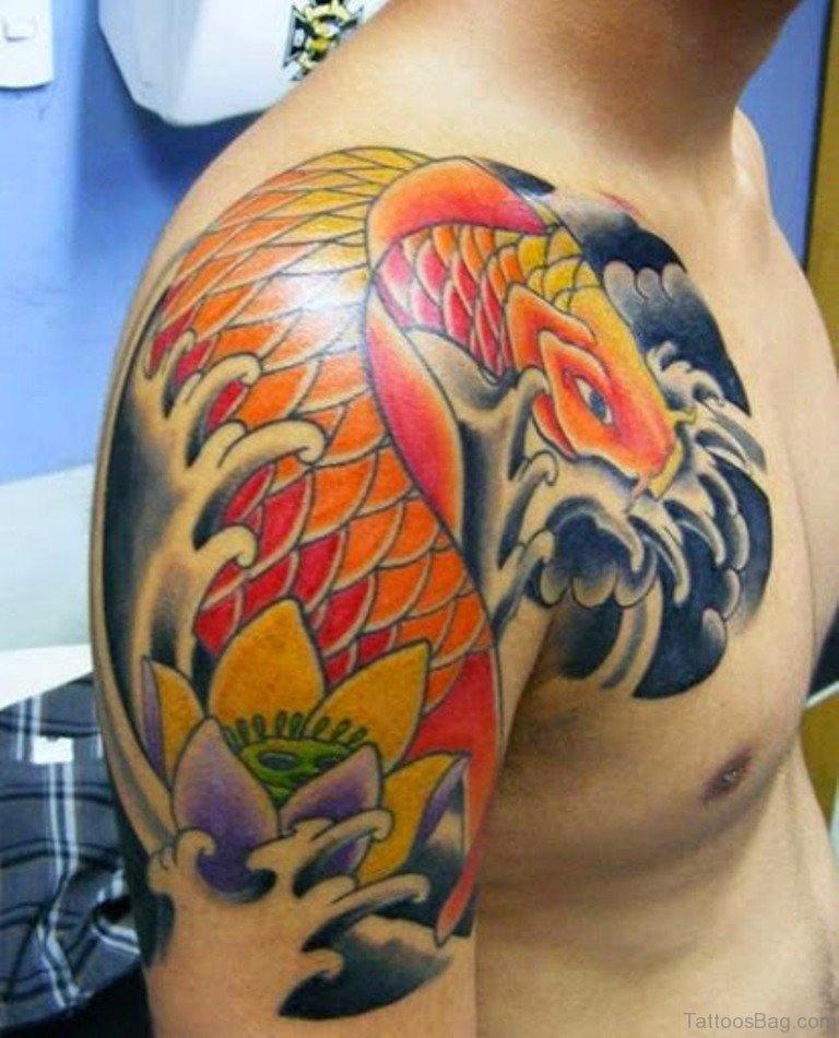 65 Neat Fish Tattoo Designs For Shoulder