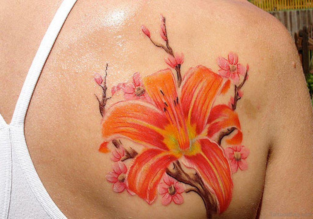 43 hibiscus shoulder tattoo designs for Flower tattoo ideas