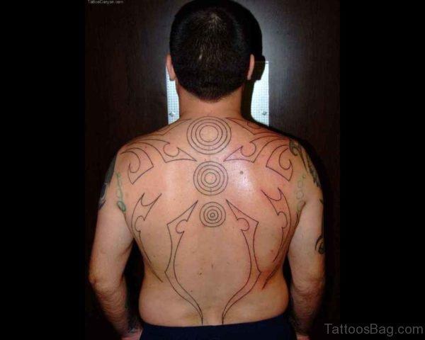 Outline Aztec Tattoo