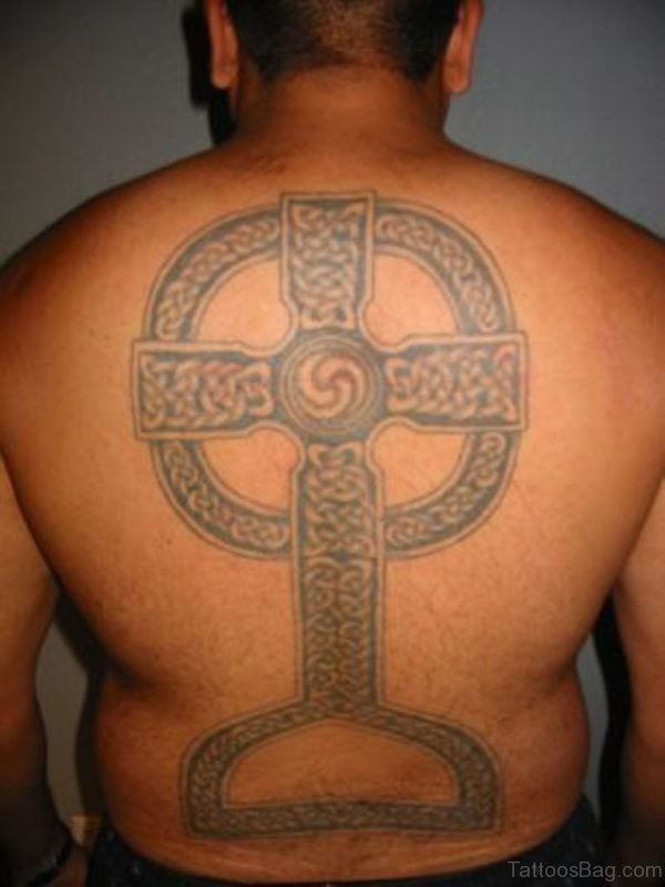 Outstanding Cross Tattoo