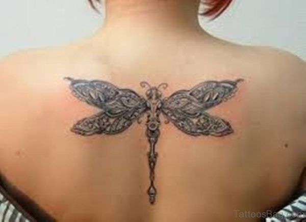 Outstanding Dragonfly Tattoo