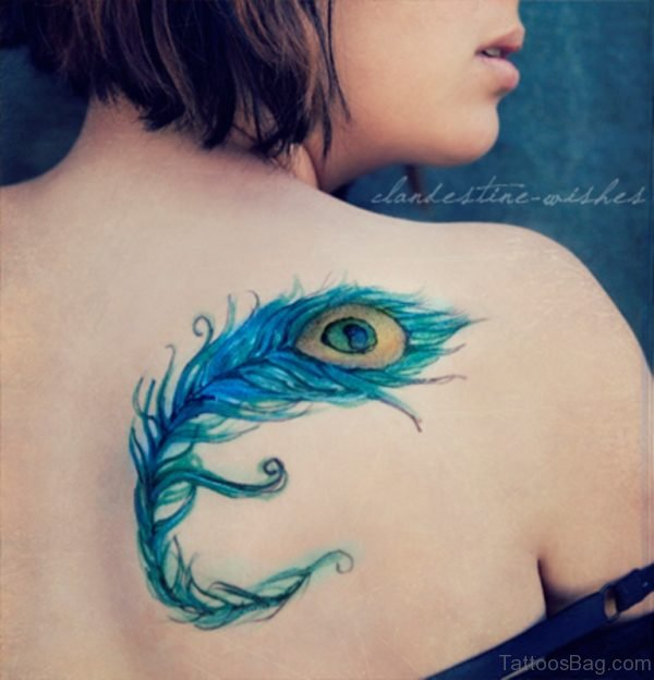 Outstanding Feather Tattoo Design