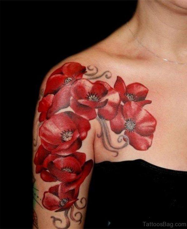 Outstanding Flower Tattoo For Women