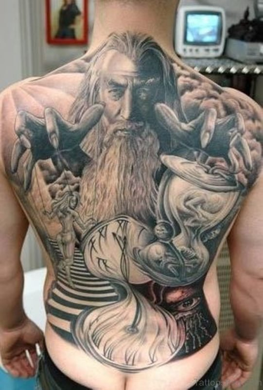 Outstanding Horror Tattoo